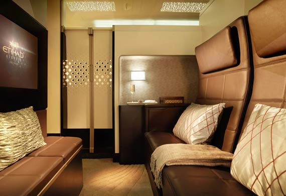 Etihad introduces new luxurious features