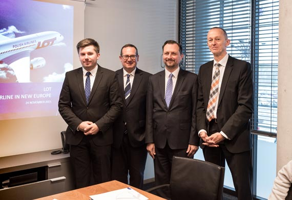 LOT Polish Airlines will connect Luxembourg