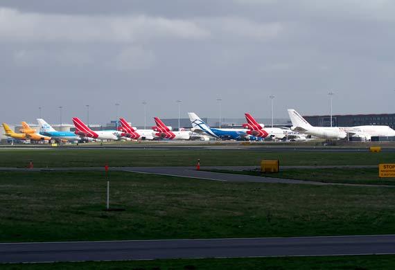Schiphol cargo closes gap in Q3