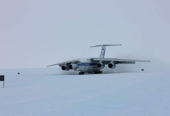 Volga-Dnepr completes first landing in Antarctica
