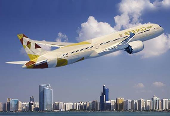Etihad Airways to deploy Boeing 787s on five further routes in 2016