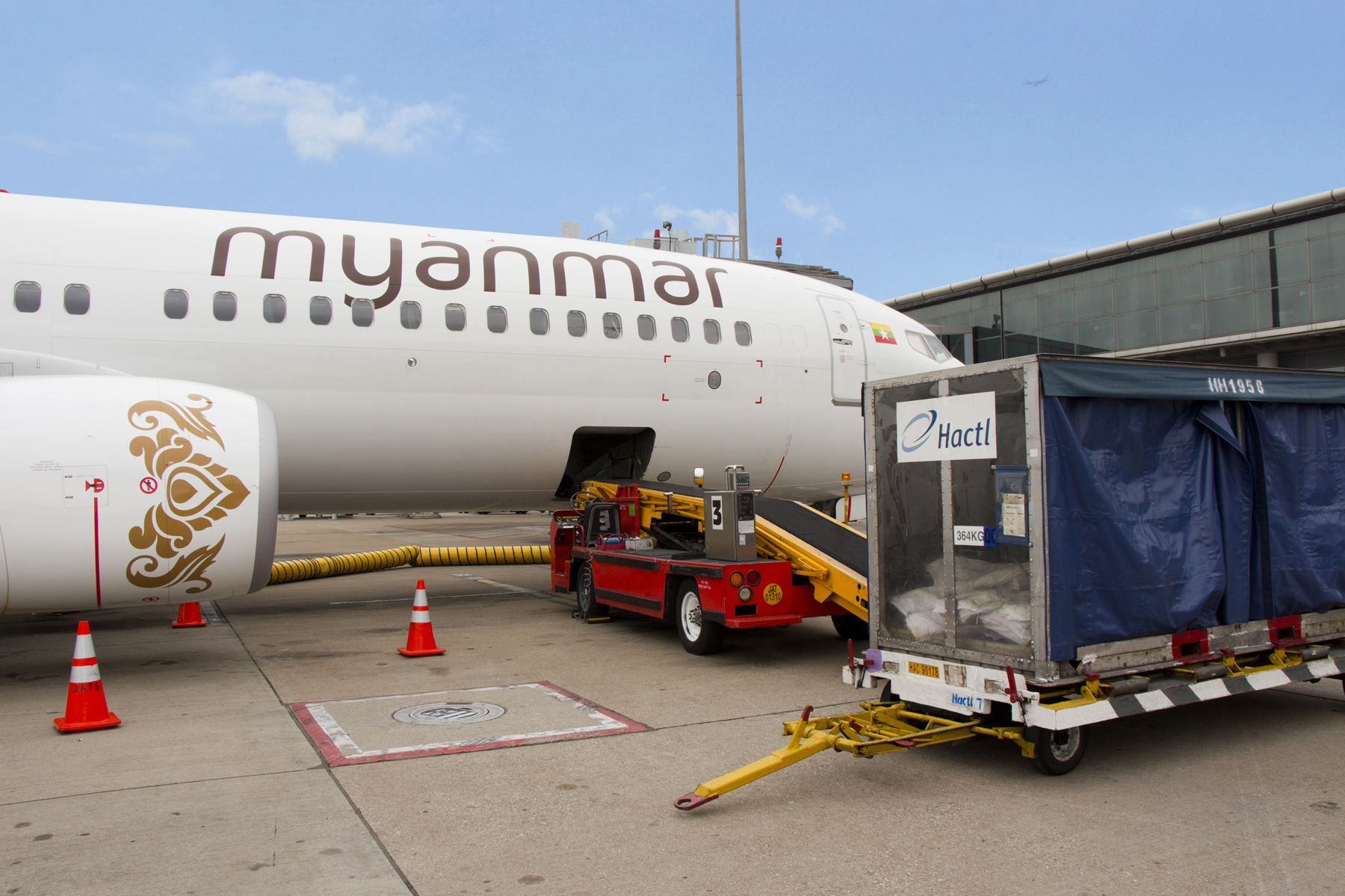 Hactl to handle Myanmar Airline's services to Hong Kong
