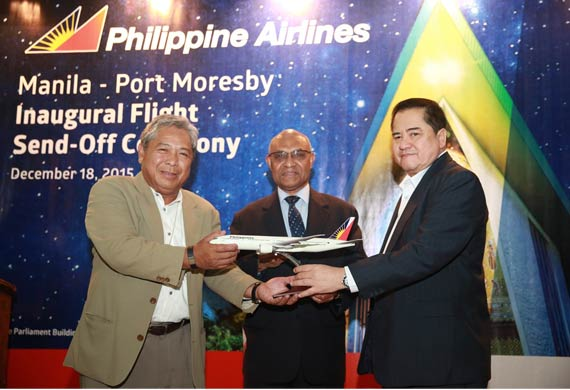 PAL launches flights to Papua New Guinea