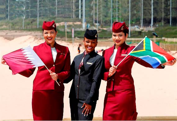 Qatar Airways launches new services to Durban