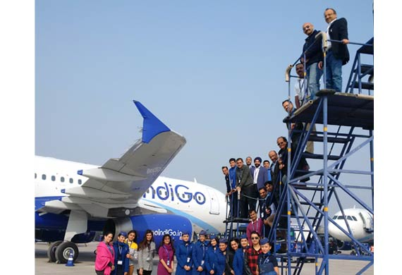 IndiGo inducts 100th Airbus A320 aircraft
