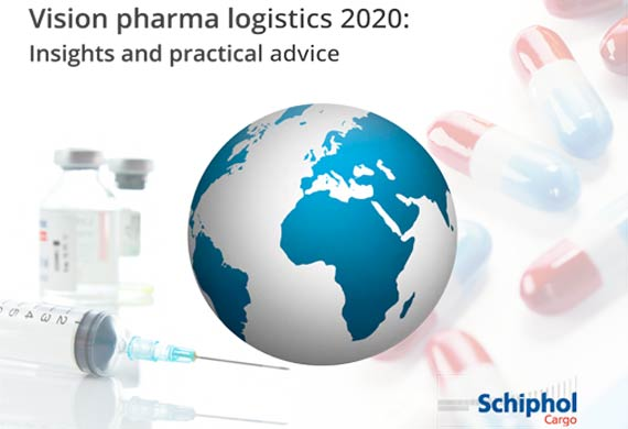 Schiphol introduces cargo eBook for pharma logistics managers