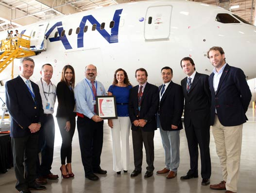 LAN Cargo gets ISO 14001:2004 certification