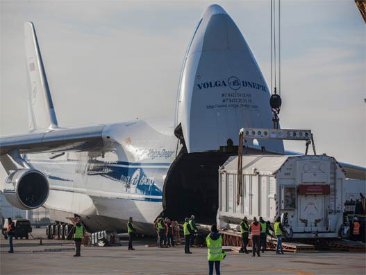 Volga-Dnepr Airlines helps Bollore Logistics to discover life on Mars
