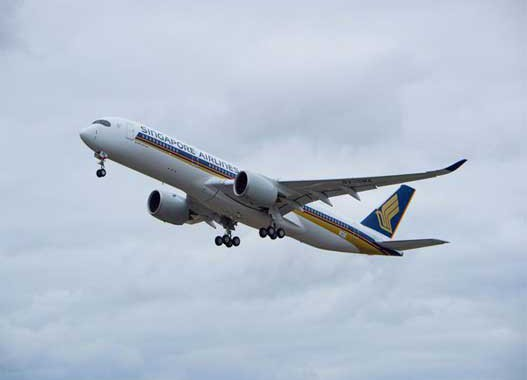 Singapore Airlines' A350-900s to serve South Africa