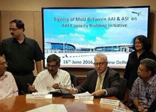 Aviation Strategies International and Airports Authority of India sign Memorandum of Understanding on Competency Building