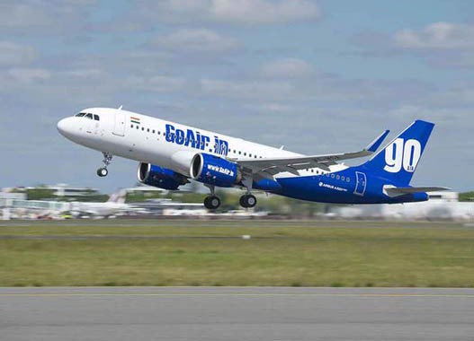GoAir takes delivery of its first of 72 A320neo aircraft