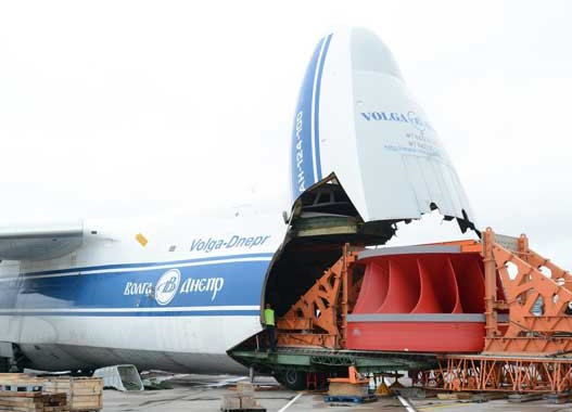 Volga-Dnepr flies 85-tonne runner for Magadan's new hydroelectric power station